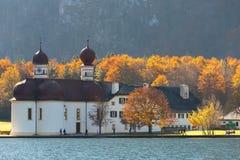 Εκκλησία Berchtesgaden, Γερμανία του ST Bartholomew Στοκ φωτογραφία με δικαίωμα ελεύθερης χρήσης