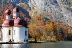 Εκκλησία Berchtesgaden, Γερμανία του ST Bartholomew Στοκ Εικόνες