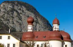 Εκκλησία Berchtesgaden, Γερμανία του ST Bartholomew Στοκ εικόνα με δικαίωμα ελεύθερης χρήσης