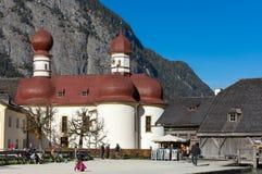 Εκκλησία Berchtesgaden του ST Bartholomew, Στοκ Εικόνες