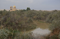 Εκκλησία, Bethany πέρα από την Ιορδανία Στοκ Εικόνα