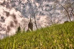Εκκλησία Bischoffen Στοκ Φωτογραφία