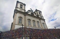 Εκκλησία Bonfim, Βραζιλία Στοκ φωτογραφία με δικαίωμα ελεύθερης χρήσης