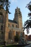 Εκκλησία Bruge Στοκ Εικόνες