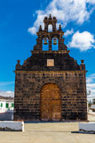 Εκκλησία Casillas Del Angel, Fuerteventura, Ισπανία Στοκ εικόνες με δικαίωμα ελεύθερης χρήσης