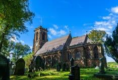 Εκκλησία Charnock Richard Χριστού Στοκ φωτογραφία με δικαίωμα ελεύθερης χρήσης