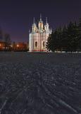 Εκκλησία Chesme, Αγία Πετρούπολη Στοκ φωτογραφία με δικαίωμα ελεύθερης χρήσης