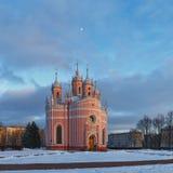 Εκκλησία Chesme, Αγία Πετρούπολη Στοκ Φωτογραφίες