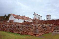 Εκκλησία Chinchero Στοκ Εικόνες