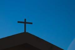 Εκκλησία Corss Στοκ Φωτογραφία