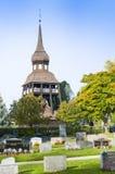 Εκκλησία Delsbo Belltower Στοκ Φωτογραφίες