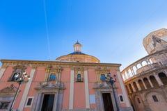Εκκλησία Desamparados βασιλικών της Βαλένθια στην Ισπανία Στοκ εικόνα με δικαίωμα ελεύθερης χρήσης