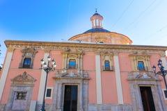 Εκκλησία Desamparados βασιλικών της Βαλένθια στην Ισπανία Στοκ Εικόνες