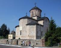 Εκκλησία Domneasca Curtea Curtea de Arges Στοκ Εικόνα