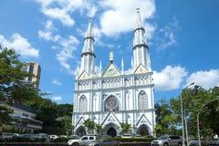 Εκκλησία EL Carmen/πόλη του Παναμά στοκ φωτογραφίες με δικαίωμα ελεύθερης χρήσης