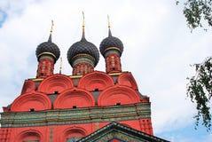 Εκκλησία Epiphany σε Yaroslavl (Ρωσία) Στοκ Εικόνες