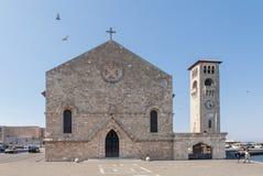 Εκκλησία Evangelismos Annunciation στη Ρόδο Στοκ Εικόνα