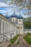 Εκκλησία Exhaltation του σταυρού, μοναστήρι Yuriev Στοκ φωτογραφία με δικαίωμα ελεύθερης χρήσης