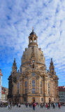 Εκκλησία Frauenkirche στη Δρέσδη, Γερμανία Στοκ Φωτογραφίες