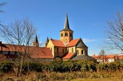 Εκκλησία Godehardi, Χίλντεσχαιμ Στοκ φωτογραφία με δικαίωμα ελεύθερης χρήσης