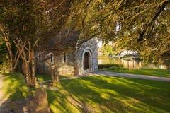 εκκλησία gougane Ιρλανδία ένα barra η μικρότερη Στοκ Εικόνα
