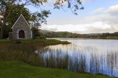 εκκλησία gougane Ιρλανδία ένα barra η μικρότερη Στοκ εικόνα με δικαίωμα ελεύθερης χρήσης