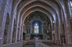 Εκκλησία Gubbio του ST Francis Στοκ Φωτογραφίες