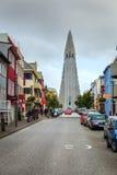 Εκκλησία Hallgrimskirkja Στοκ Φωτογραφίες