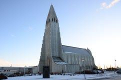Εκκλησία Hallgrimskirkja Στοκ Εικόνες
