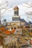 Εκκλησία Hartebrugkerk μέσα κεντρικός του Λάιντεν, Κάτω Χώρες Στοκ Φωτογραφία