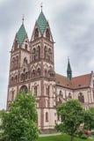 Εκκλησία herz-Jesu Freiburg Στοκ Φωτογραφία
