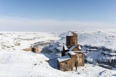 Εκκλησία Honents Tigran στην αρχαία πόλη Ani, Kars, Τουρκία Στοκ εικόνα με δικαίωμα ελεύθερης χρήσης