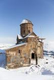 Εκκλησία Honents Tigran στην αρχαία πόλη Ani, Kars, Τουρκία Στοκ Φωτογραφίες