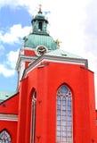 Εκκλησία iin Στοκχόλμη, Σουηδία Αγίου James στοκ εικόνα