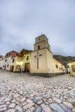 Εκκλησία Iruya στην αργεντινή επαρχία Salta. στοκ εικόνα