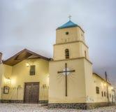 Εκκλησία Iruya στην αργεντινή επαρχία Salta στοκ φωτογραφίες με δικαίωμα ελεύθερης χρήσης