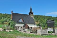 Εκκλησία Jagniatkow, χαμηλότερη Σιλεσία, Πολωνία Στοκ Φωτογραφίες