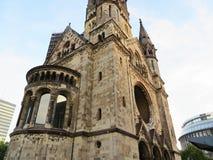 εκκλησία kaiser ο αναμνηστικός Wilhelm του Βερολίνου Στοκ εικόνα με δικαίωμα ελεύθερης χρήσης