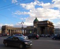 εκκλησία kazan ορθόδοξη Πετρούπολη ρωσικό ST καθεδρικών ναών Στοκ Εικόνες
