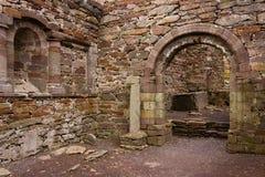 Εκκλησία Kilmalkedar εσωτερικός Dingle χερσόνησος Ιρλανδία στοκ εικόνες με δικαίωμα ελεύθερης χρήσης