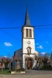 Εκκλησία Lenoncourt, Λωρραίνη, Γαλλία Στοκ εικόνα με δικαίωμα ελεύθερης χρήσης