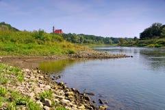 Εκκλησία Lubiaz στη χαμηλότερη Σιλεσία Στοκ εικόνες με δικαίωμα ελεύθερης χρήσης
