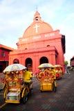 Εκκλησία Malacca Χριστού Στοκ φωτογραφία με δικαίωμα ελεύθερης χρήσης