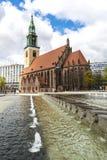 Εκκλησία Marienkirche του ST Mary στο Βερολίνο, Γερμανία Στοκ Φωτογραφίες