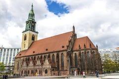 Εκκλησία Marienkirche του ST Mary στο Βερολίνο, Γερμανία Στοκ φωτογραφία με δικαίωμα ελεύθερης χρήσης