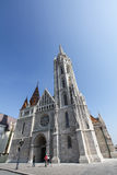 εκκλησία Matthias της Βουδαπέσ στοκ εικόνες
