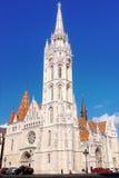 εκκλησία Matthias της Βουδαπέσ Στοκ φωτογραφία με δικαίωμα ελεύθερης χρήσης