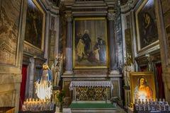 Εκκλησία Miracoli dei της Σάντα Μαρία, Ρώμη, Ιταλία Στοκ φωτογραφίες με δικαίωμα ελεύθερης χρήσης