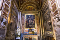 Εκκλησία Miracoli dei της Σάντα Μαρία, Ρώμη, Ιταλία Στοκ φωτογραφία με δικαίωμα ελεύθερης χρήσης