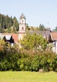Εκκλησία Mittenwald Στοκ φωτογραφία με δικαίωμα ελεύθερης χρήσης